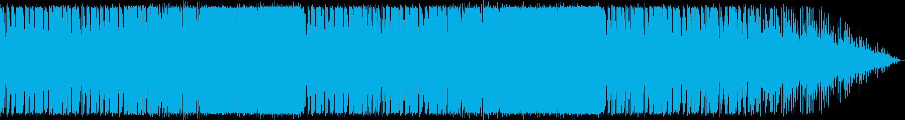 怪しい雰囲気、不気味な様子のエレクトロの再生済みの波形