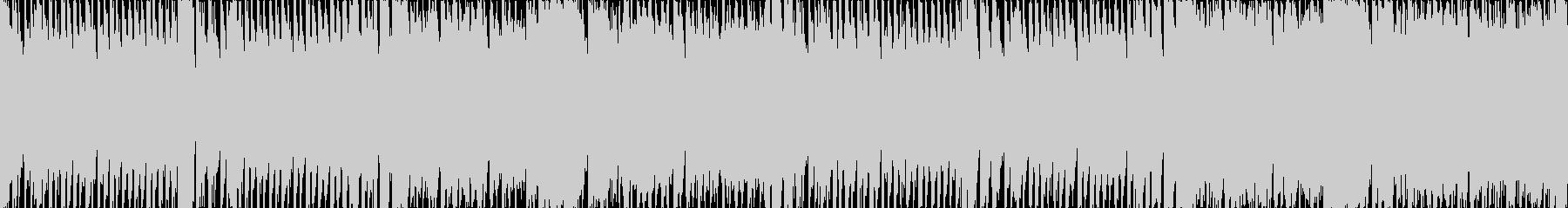 キラキラ、エレクトリカルパレード風ループの未再生の波形