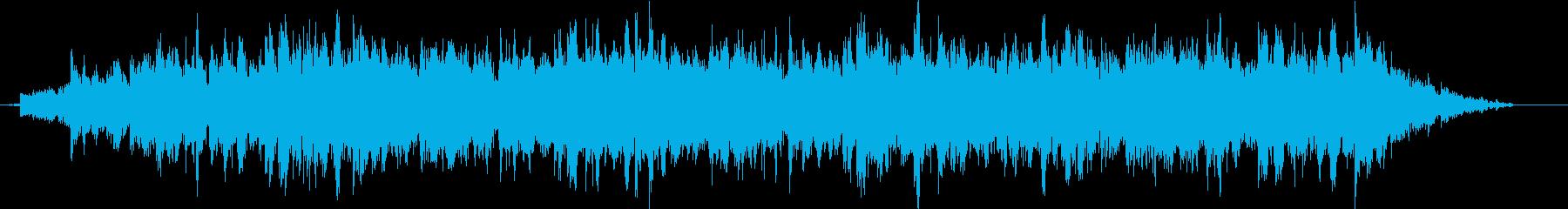 ドローン ハイチャイム02の再生済みの波形