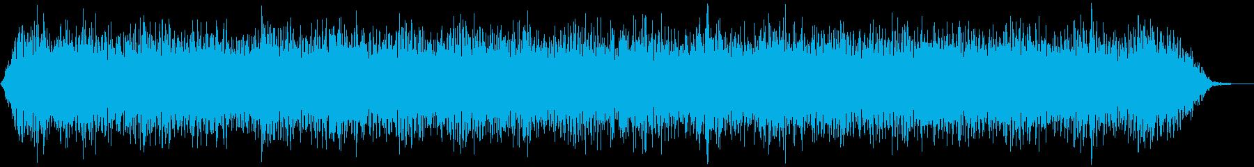 【アンビエント】ドローン_41 実験音の再生済みの波形