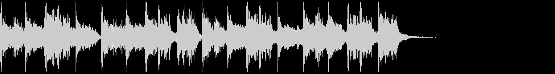 【ジングル】シックでコミカルなBGMの未再生の波形