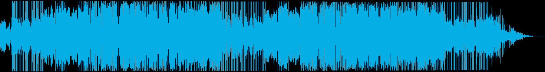 スキャットが印象的なR&B風エレクトロの再生済みの波形