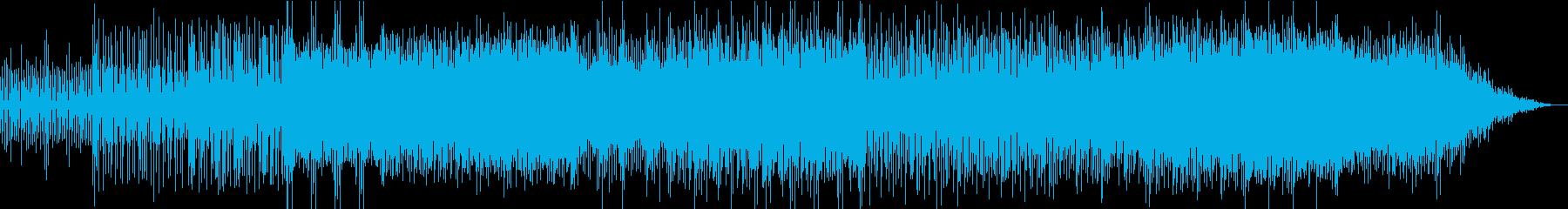 Downtempo Techno Popの再生済みの波形