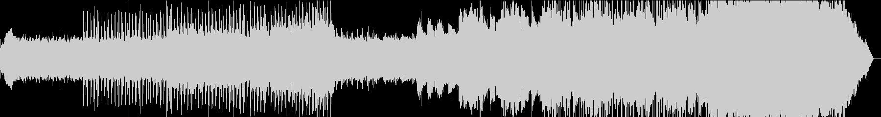 夜明けをイメージ/幻想的なエレクトロニカの未再生の波形