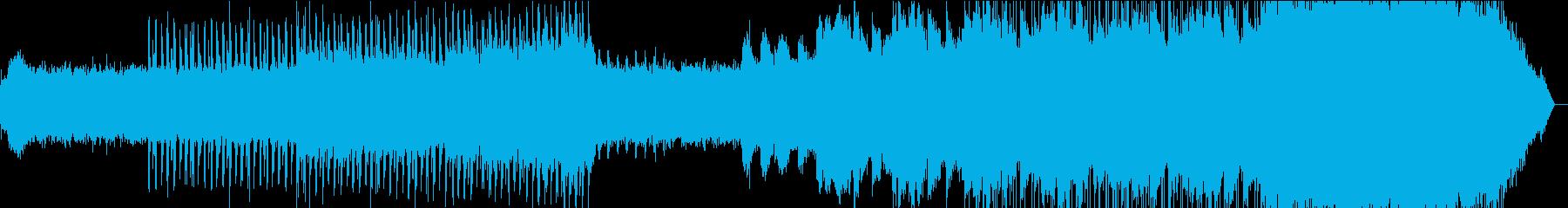 夜明けをイメージ/幻想的なエレクトロニカの再生済みの波形