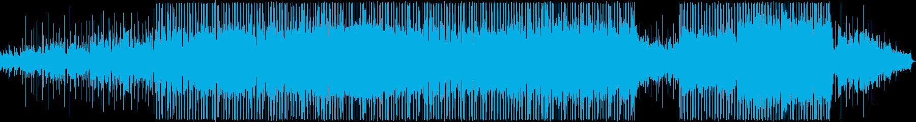 明るい雰囲気のバラードの再生済みの波形