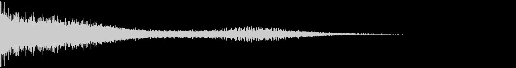 ビュイーーン(魔法攻撃)の未再生の波形