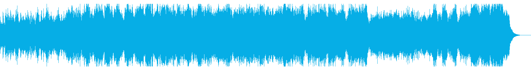 重厚にダークな宇宙をイメージしたBGMの再生済みの波形