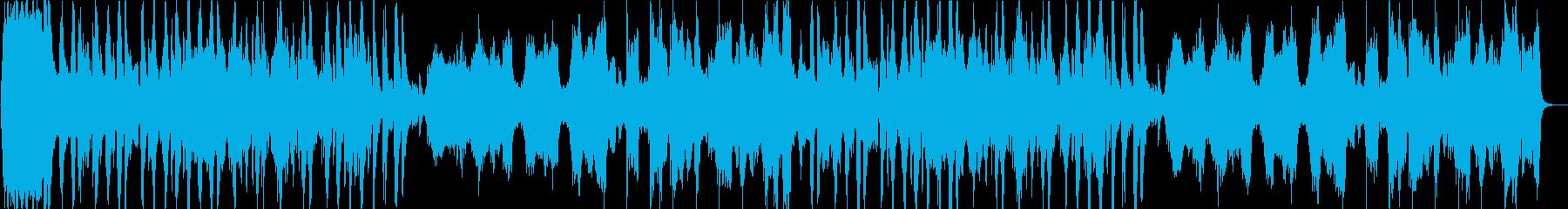 宇宙・軍隊をイメージする壮大なオーケストの再生済みの波形