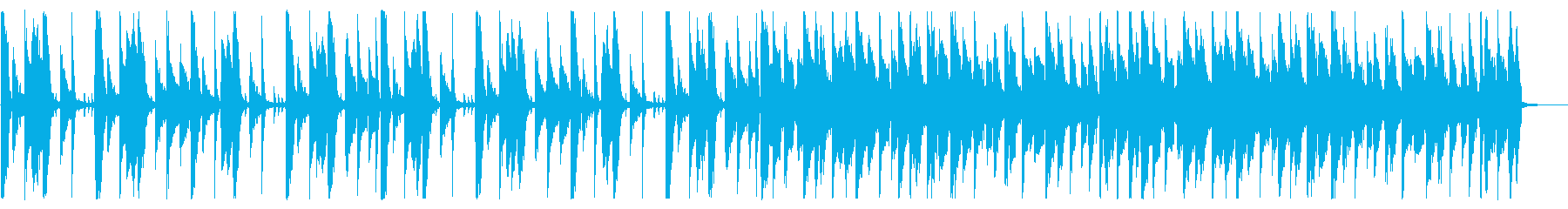 ほのぼの切ない_No660_2の再生済みの波形