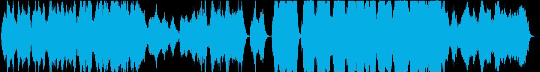 ストリングスによる壮大な和風曲の再生済みの波形