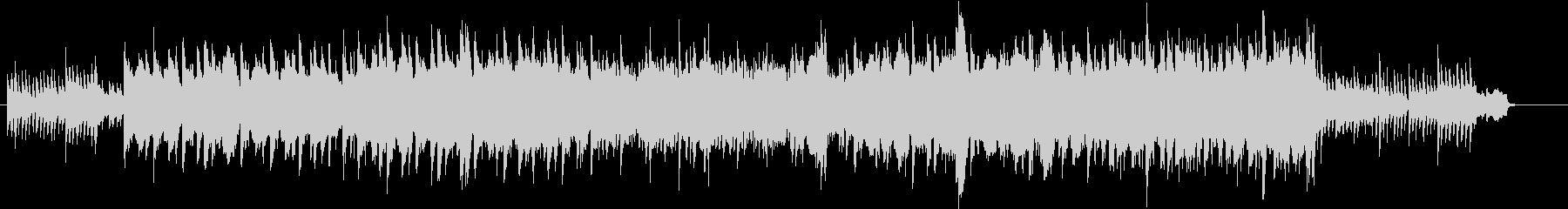 サックスとピアノがメインの感動的なBGMの未再生の波形