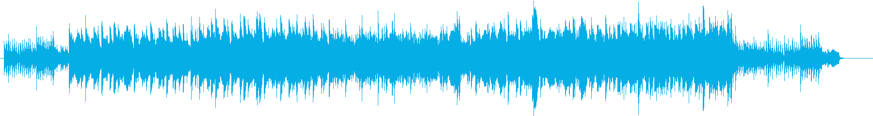 サックスとピアノがメインの感動的なBGMの再生済みの波形