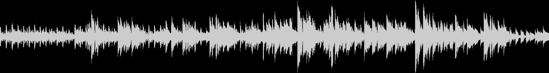 生音アコースティックブルースアンサンブルの未再生の波形