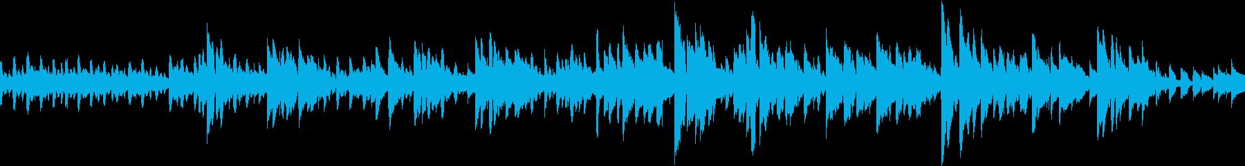 生音アコースティックブルースアンサンブルの再生済みの波形
