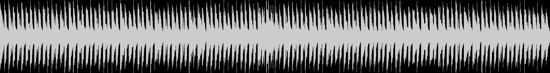 メロディアスなチップチューンの未再生の波形