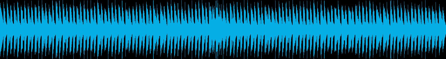 メロディアスなチップチューンの再生済みの波形