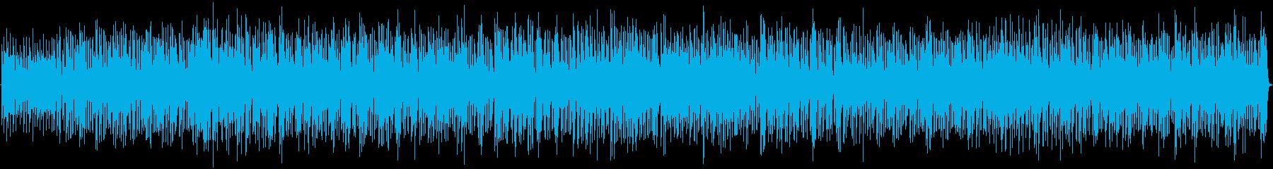 素敵なジャズボッサ。ボサノバ、モダ...の再生済みの波形