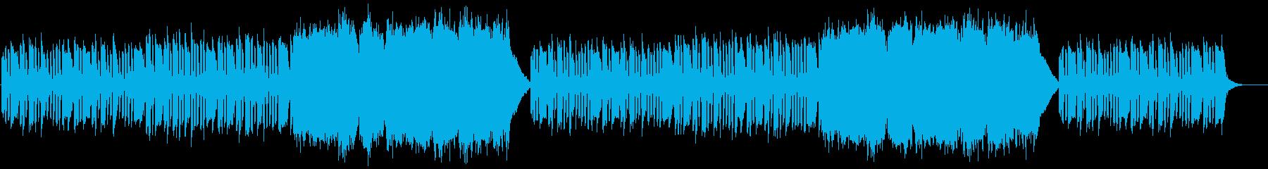 森イメージの落ち着いた木管&ストリング曲の再生済みの波形