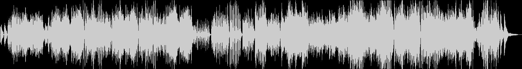 メンデルスゾーンの結婚行進曲のシン...の未再生の波形