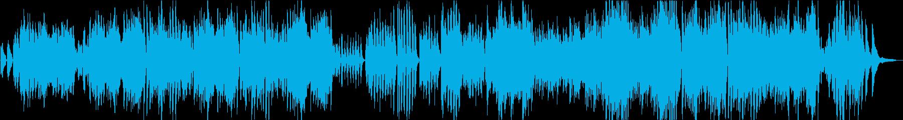 メンデルスゾーンの結婚行進曲のシン...の再生済みの波形