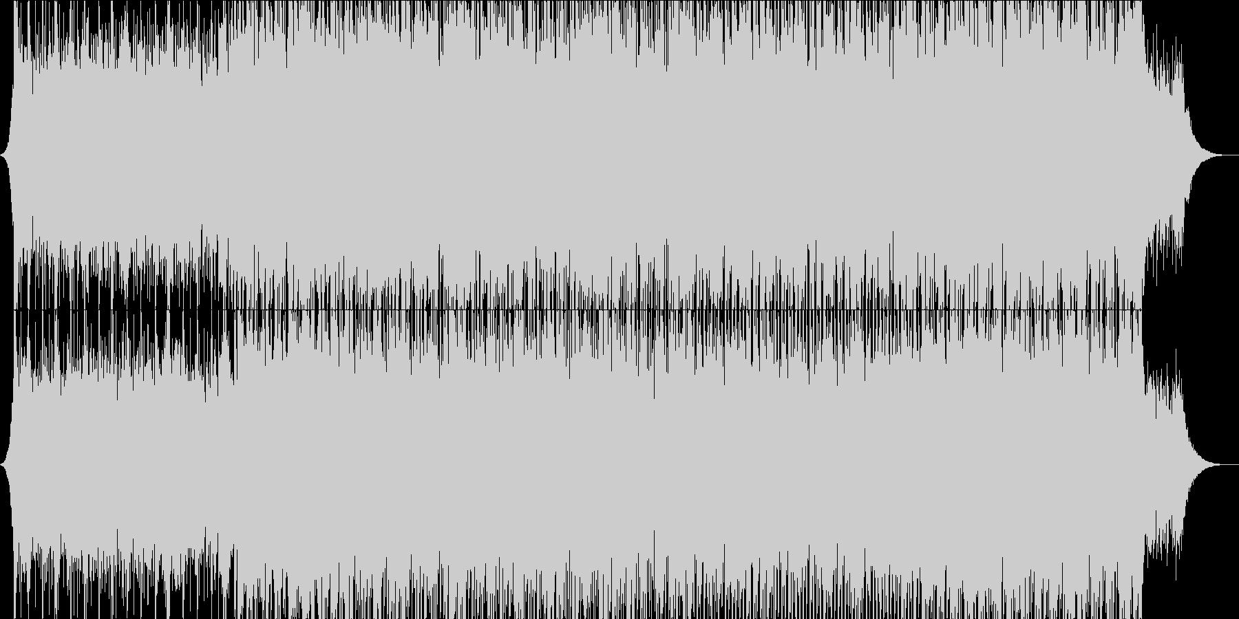 やる気を起こさせる、ポップロックの未再生の波形