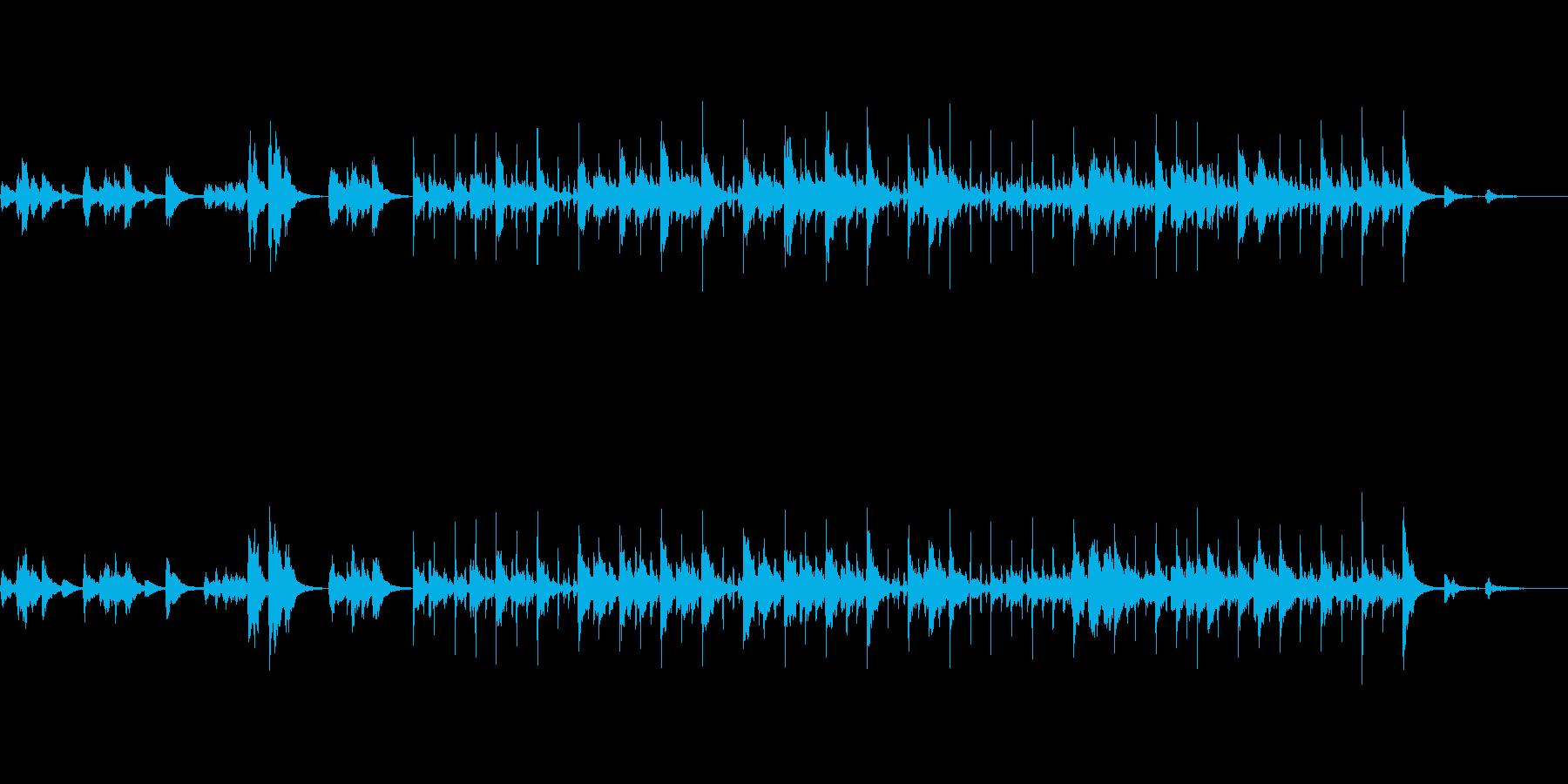 風変わりなピチカートストリングキュー。の再生済みの波形