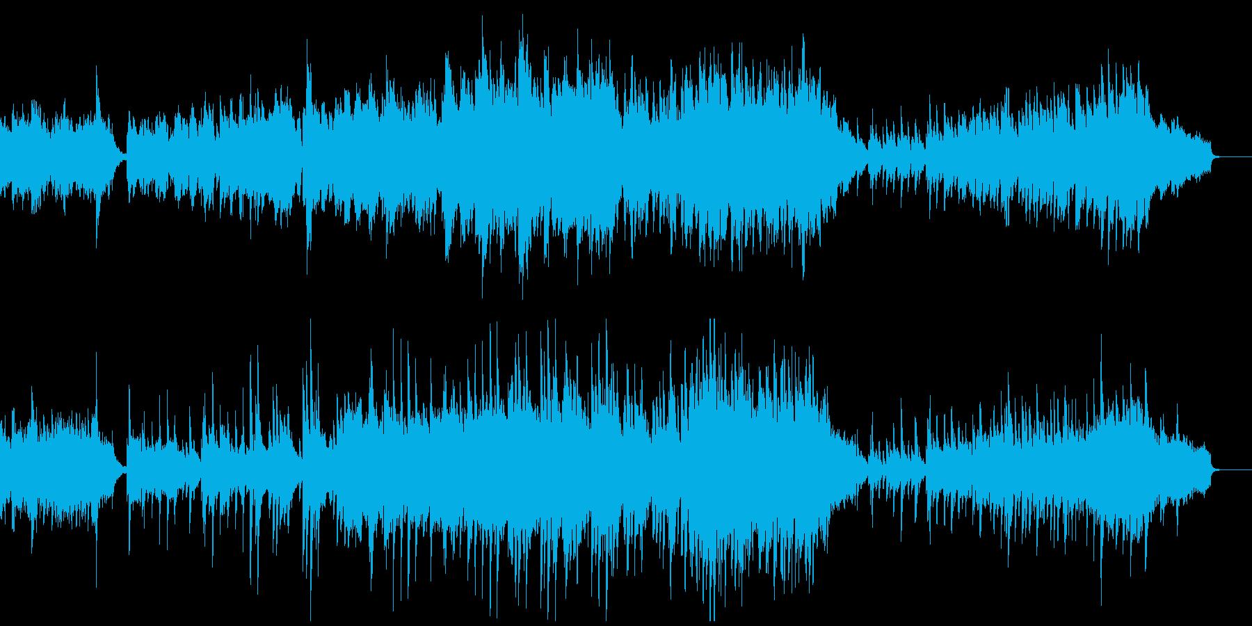 オーケストラ・春の始まりをイメージの再生済みの波形
