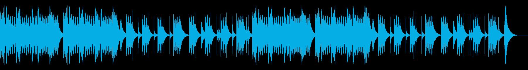 オルゴールによる可愛らしくて切ないBGMの再生済みの波形