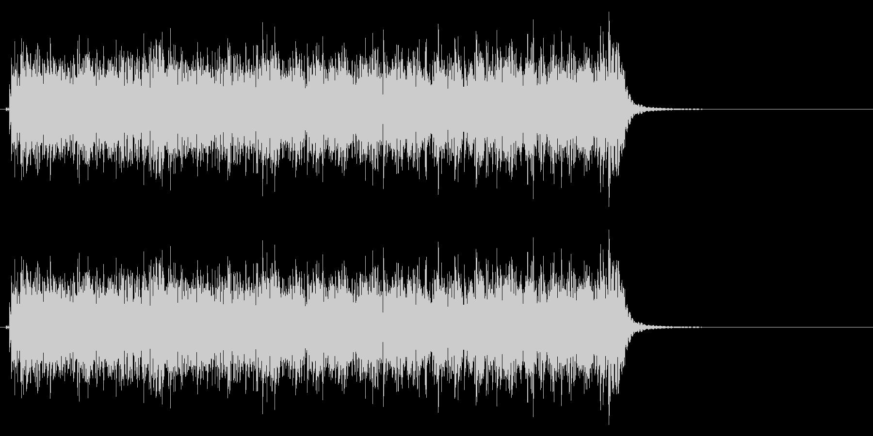 時計 アラーム05-1の未再生の波形