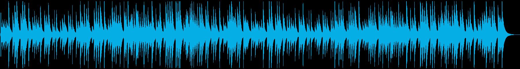 和風/落ち着いた料亭で流れる琴の再生済みの波形