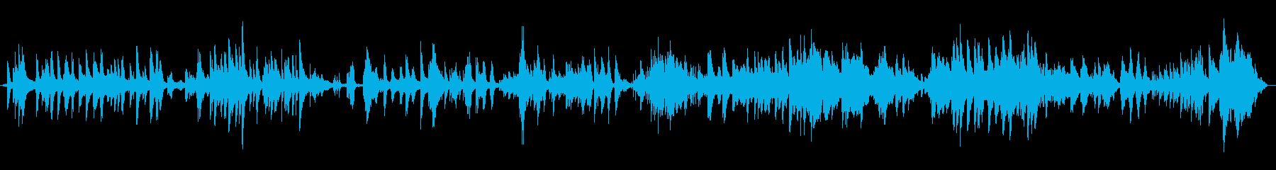 ヒーリングピアノ曲・やさしい・透明感の再生済みの波形