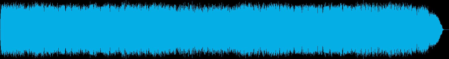 爽やかな風の竹笛の音楽の再生済みの波形