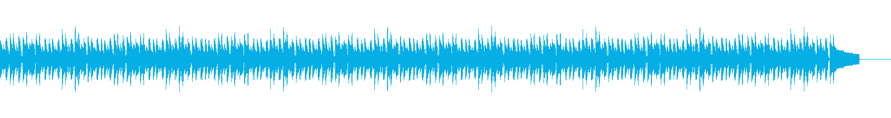 日常系BGMdの再生済みの波形