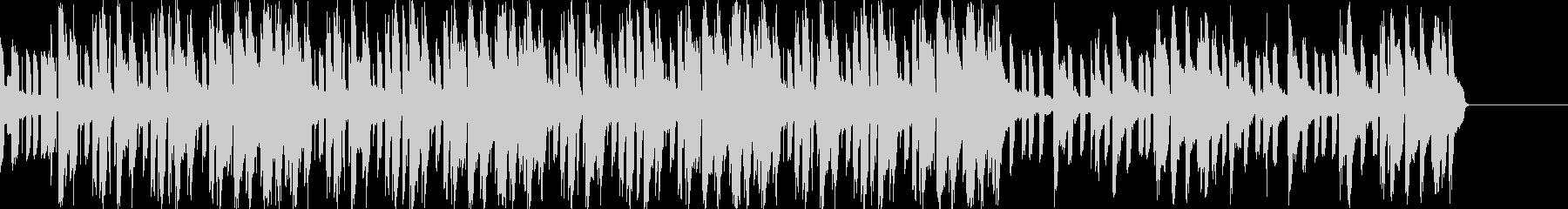 リラックス、スウィートな雰囲気のBGMの未再生の波形