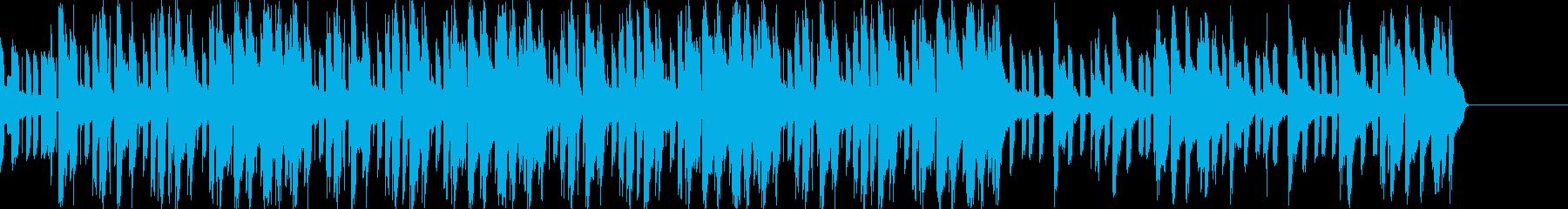 リラックス、スウィートな雰囲気のBGMの再生済みの波形