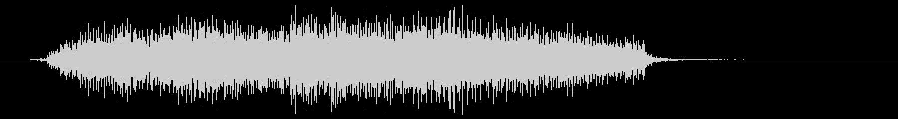 重い木製のドアヒンジ:大きな音の未再生の波形