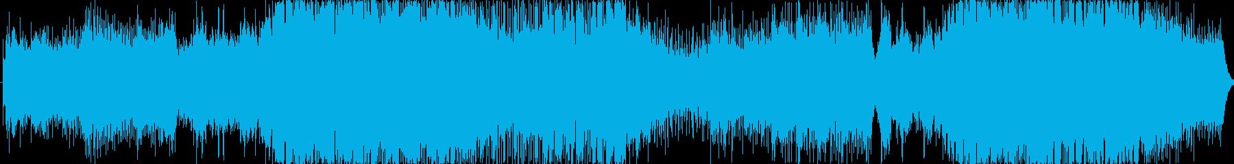 メロディアスなストリングスの OP曲の再生済みの波形
