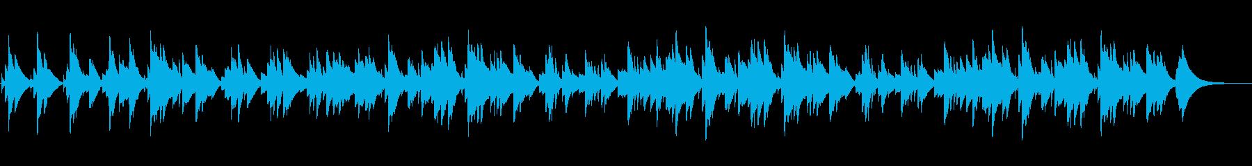 眠くなるオルゴールのBGM(約3分)の再生済みの波形