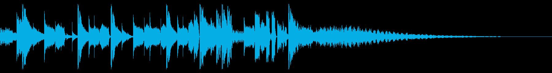 155 BPMの再生済みの波形