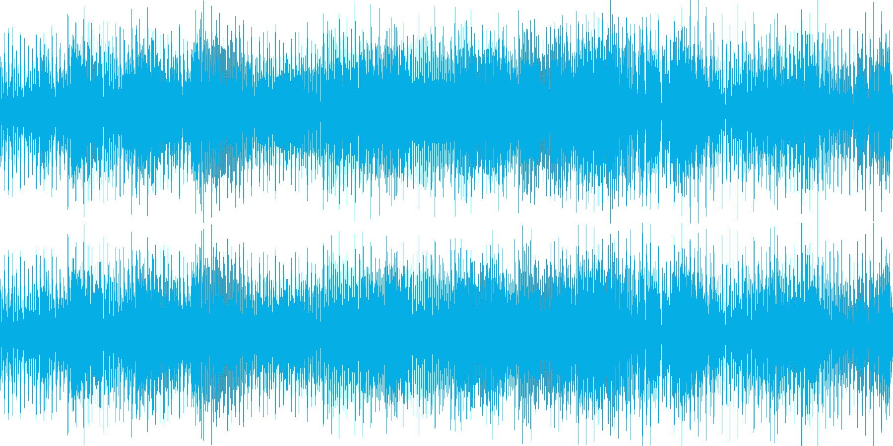EDM ボイス ダンス 激しい ループの再生済みの波形