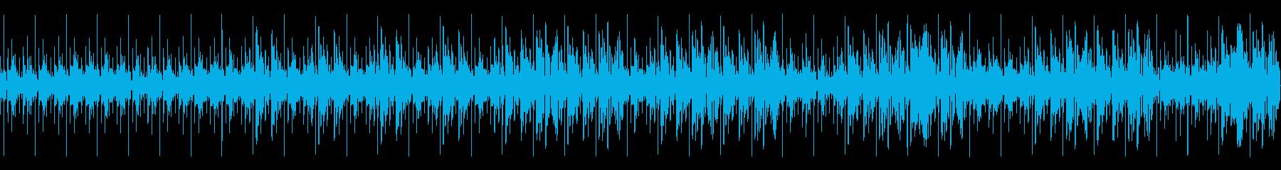 ポリリズムによるSF映画音楽の再生済みの波形