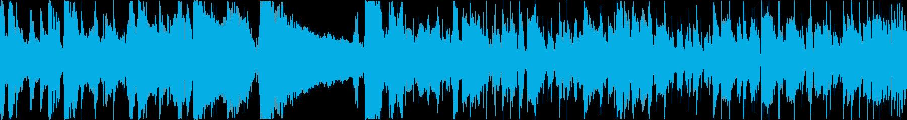 ギターソロが印象的なジャズファンクの再生済みの波形