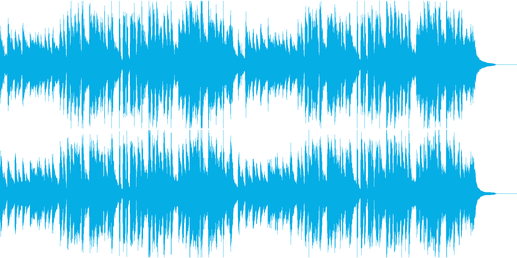 きらきら星 英語版の再生済みの波形