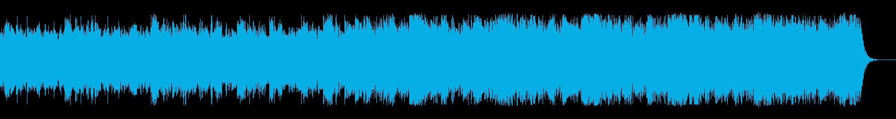メロウなピアノベースのインストの再生済みの波形