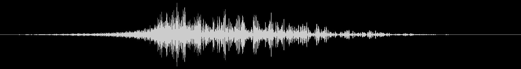 シューッという音EC02_54_2の未再生の波形