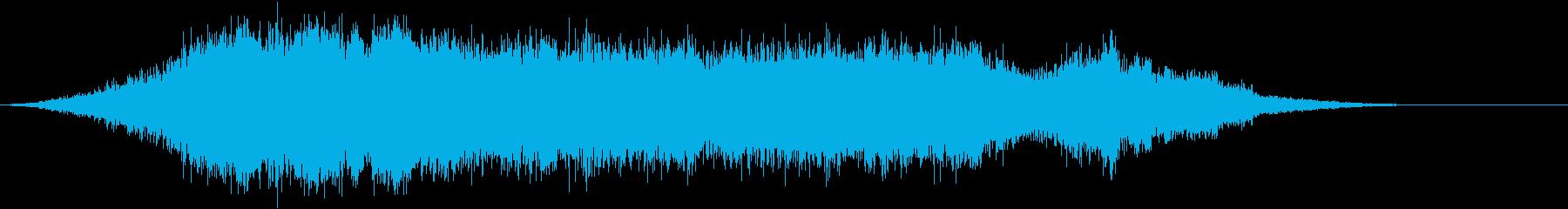 音楽:不気味なオーケストラ、サウン...の再生済みの波形