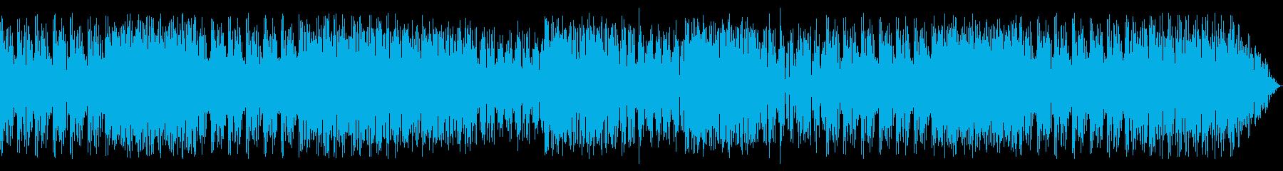 格好いいアイテム ファンキーなデジロックの再生済みの波形