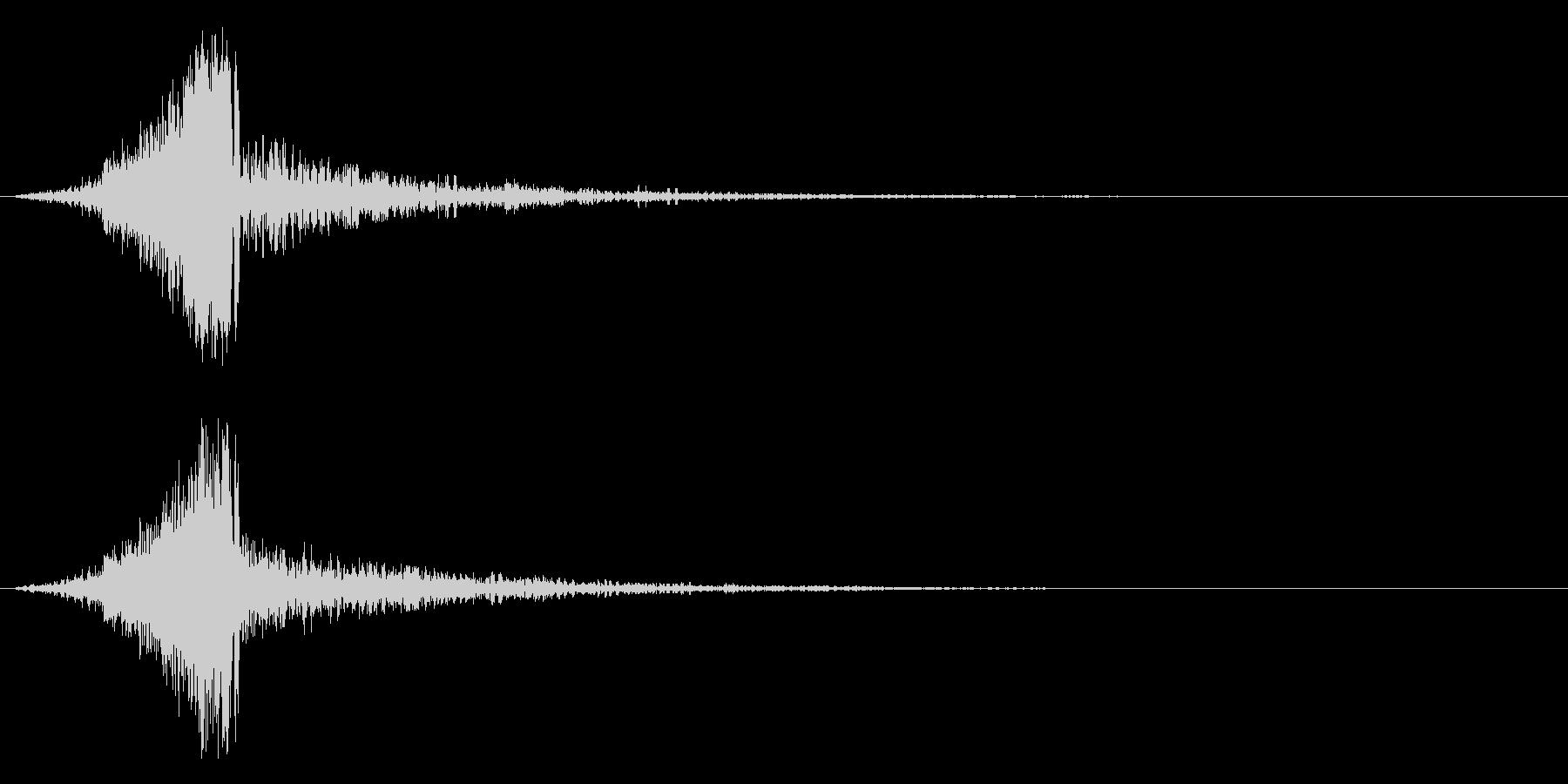 ジッタースウィッシュ、グリッチの未再生の波形