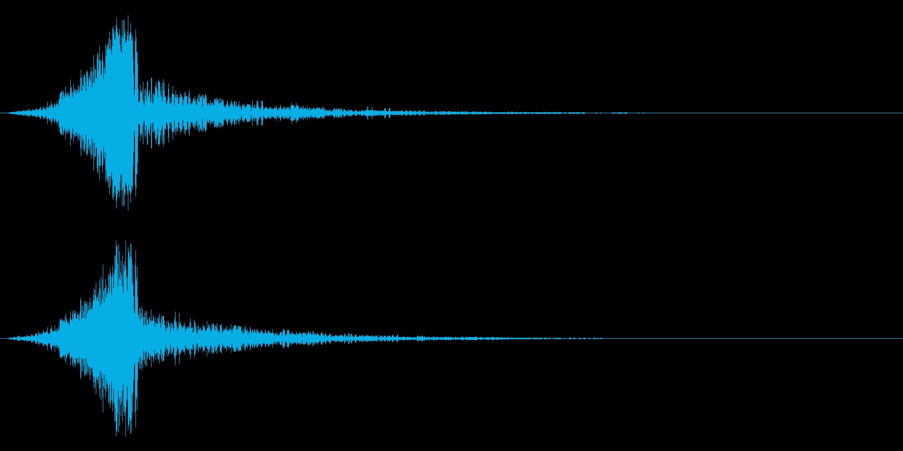ジッタースウィッシュ、グリッチの再生済みの波形